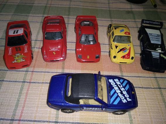 Autos Colección Ferrari Porsche Welly Solido Burago Antiguos