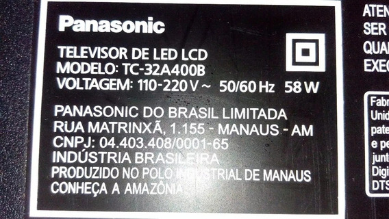 Placa Principal Tv Panasonic Tc-32a400b Tnp4g569