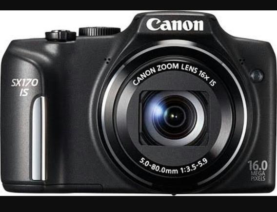 Câmera Canon Power Shot Sx170is 16mp Nunca Usada