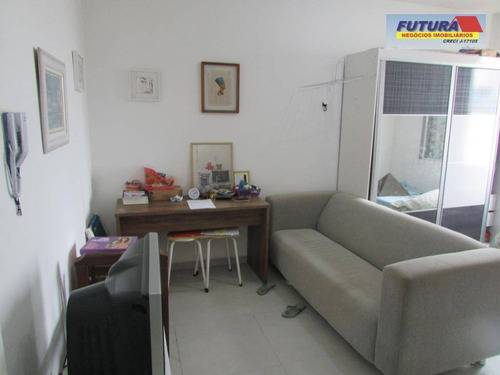 Kitnet Com 1 Dormitório À Venda, 20 M²  - Gonzaguinha - São Vicente/sp - Kn0093