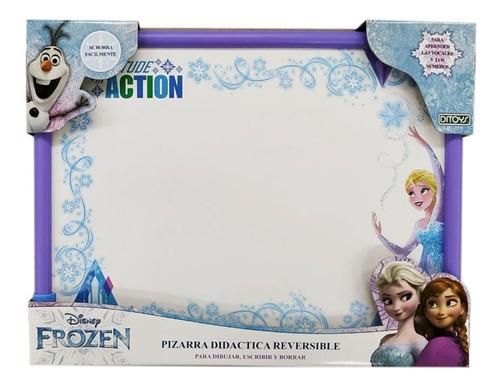 Imagen 1 de 1 de  Pizarra Didactica  Reversible  Frozen Disney Full