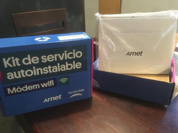 Modem Router Wifi Arnet Autoinstalable Arcadyan Vrv9518 Adsl