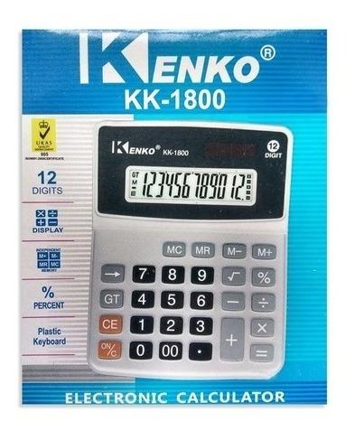 Calculadora Mesa.promoção.kk-1800 Kenko 12dígitos