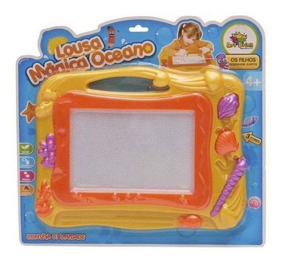 Lousa Mágica Oceano 839668 Art Brink - Amarelo