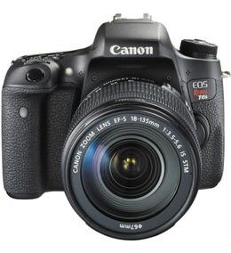 Câmera Canon Rebel T6s Ef-s 18-135mm Is Stm+bolsa+32gb+tripe