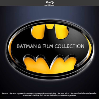 Saga Batman En 1 Disco Blu-ray