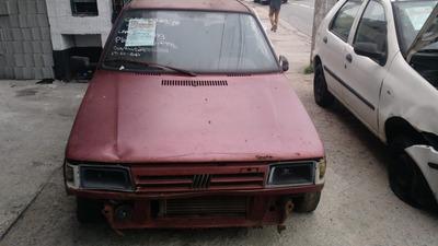 Sucata Fiat Uno Mille (p/ Retirada De Peças).