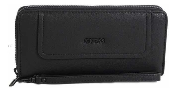Billetera Guess Negra Original