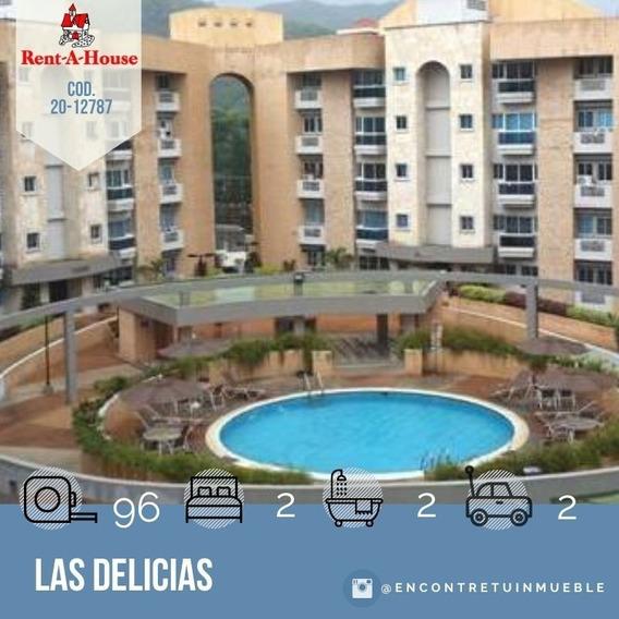 Apartamento En Venta En Maracay, Las Delicias 20-12787 Scp