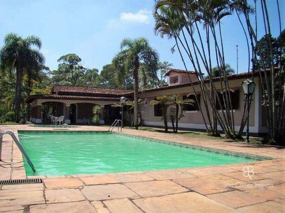 Chácara Com 4 Dormitórios À Venda, 12000 M² Por R$ 1.500.000,00 - Granja Viana - Cotia/sp - Ch0005