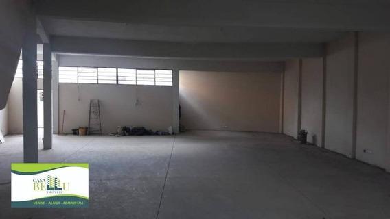 Salão Para Alugar, 200 M² Por R$ 2.500,00/mês - Jardim Santo Antonio - Franco Da Rocha/sp - Sl0030