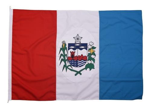 Imagem 1 de 2 de Bandeira Oficial De Alagoas - Tam 90x129cm