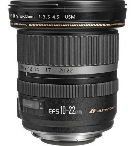 Lente Canon Ef-s 10-22mm F/3.5-4.5 Usm Grande Angular C/ Nfe