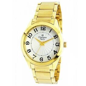 Relógio Champion Feminino Cn25029h Dourado - Loja Oficial