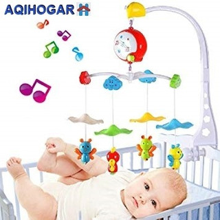 Movil De Cuna Musical Para Bebe
