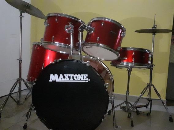 Batería Acústica Maxtone Con Poco Uso