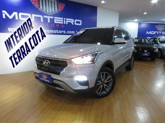 Hyundai Creta 2.0 Flex Prestige Aut Top C/ Interior Marrom
