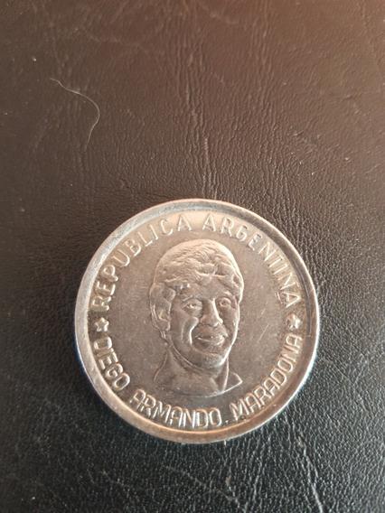 Moneda De Diego Maradona