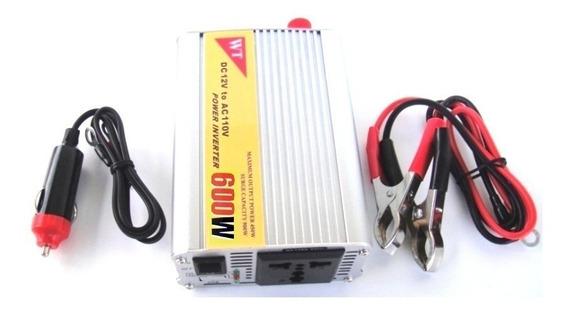 Inversor Transformador Conversor 600w 12v - 110v