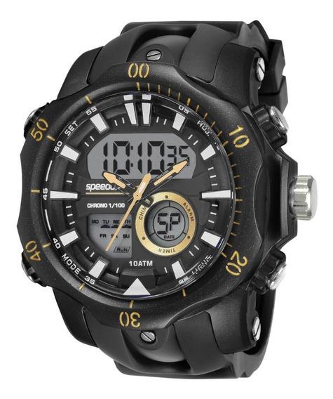 Relógio Masculino Anadigi Preto Speedo 11011g0evnp3