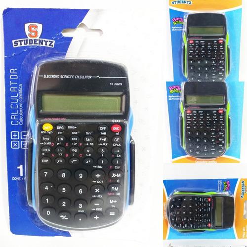 Imagen 1 de 8 de Calculadora Cientifica Mini Escuela Estudiante 1 Línea Basi