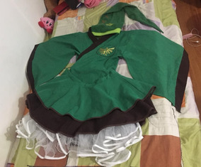 Cosplay Kimono Link The Legent Of Zelda -con Gorro Incluido