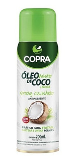 Óleo De Coco + Palma Spray 200ml Copra