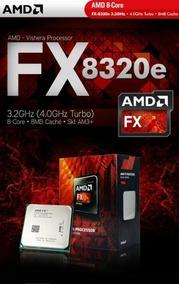 Processador Amd Fx-8320e Black Edition 3.2 Ghz - Novíssimo!