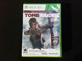 Tomb Raider Game Of The Year Goty