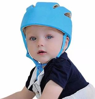 Casco Protector Para Bebes Antigolpes Ajustable Colores