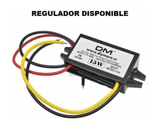 Regulador Convertidor Voltaje 12v A 5v 3a 15w  Disponible