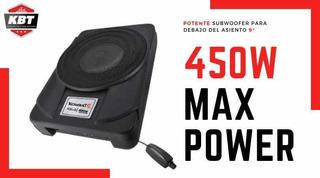 Subwoofer Amplificado Debajo Del Asiento Kbt 9 450w Max P