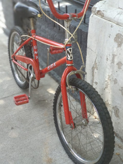 Bicicleta Bmx Rojo Rodado 20 Infantil