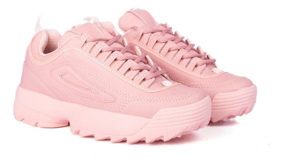 Zapatillas Mujer Plataforma Sneakers Moda Urbana Nuevas