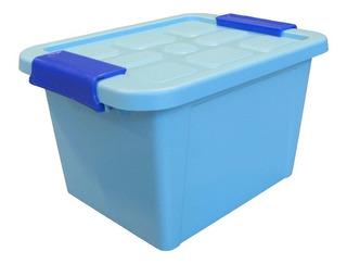Caja De 6 Lt Hermetica De Almacenamiento Plastico Iris Alica