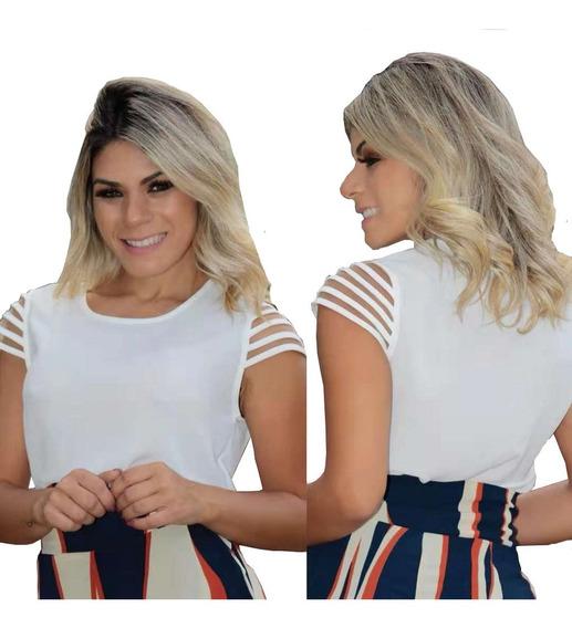 Blusinha Blusas Com Detalhes Moda Evangelica Comportada