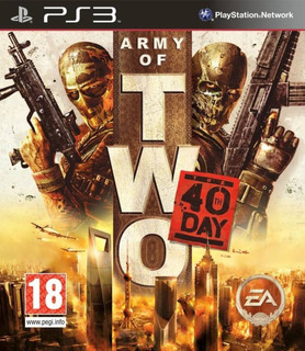 Army Of Two 40th Day Ps3 / Playstation 3 Usado