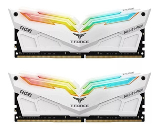 Memoria Ram Ddr4 16gb 3200mhz Teamgroup Night Hawk Rgb 2x8gb