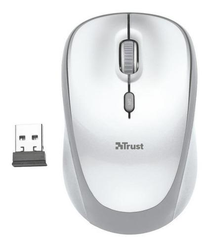 Mouse inalámbrico Trust  Yvi white