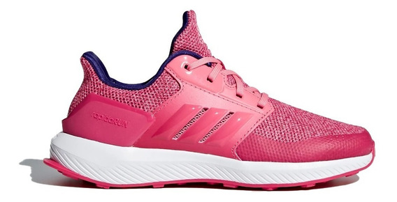 adidas Zapatilla Running Niña Rapidarun Rosa