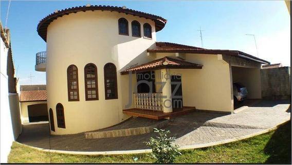 Casa Com 4 Dormitórios À Venda, 415 M² Por R$ 790.000 - Jardim Bela Vista Iii - Cosmópolis/sp - Ca5422