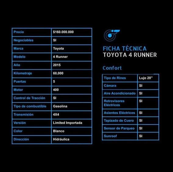 Toyota 4runner Toyota 4 Runner 2015
