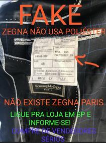 Terno Ermenegildo Zegna Paris É Fake! Não Compre! Leia Mais!