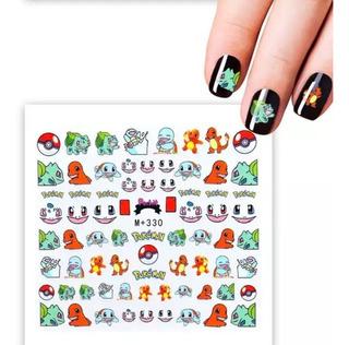 Stickers Para Uñas Pokemon