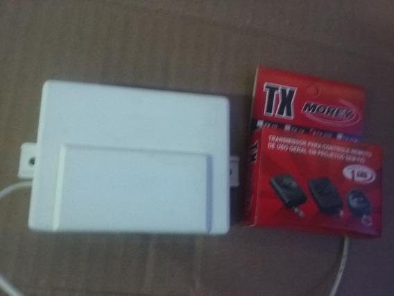 Receptor Morey 2 Canais Com Controle Tx-510 2 Botões