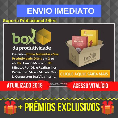 Box Da Produtividade - 2019