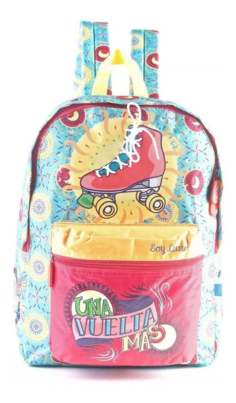 Mochila Soy Luna Escolar Original 17 Pulgadas 81464 Oferta!!