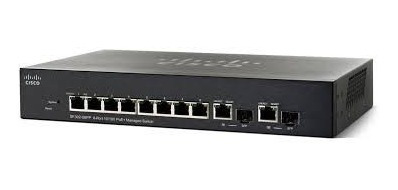 Switch Cisco Sb Sf302 08p Adm L2 8 10100 2g Poe Srw208p-k9n
