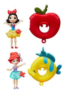 Combo X2 Princesas Flotadoras Little Kingdom Hasbro