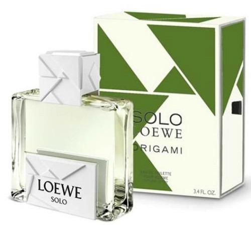 Perfume Loewe Solo Loewe Origami Edt M 100ml